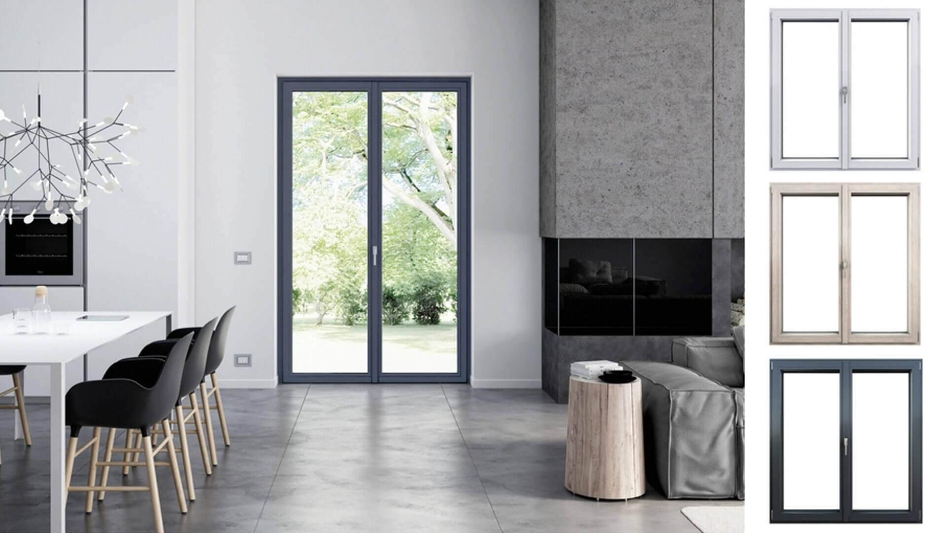 Il colore delle finestre questione di stile blog oknoplast for Finestre e porte moderne