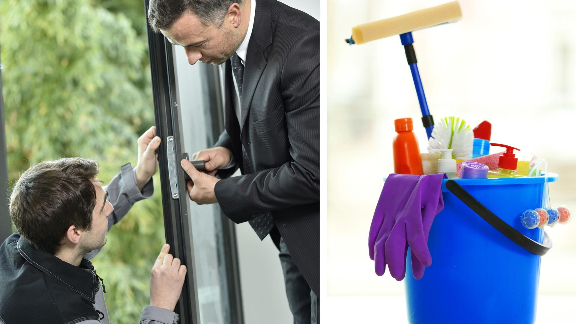 lavaggio e manutenzione infissi