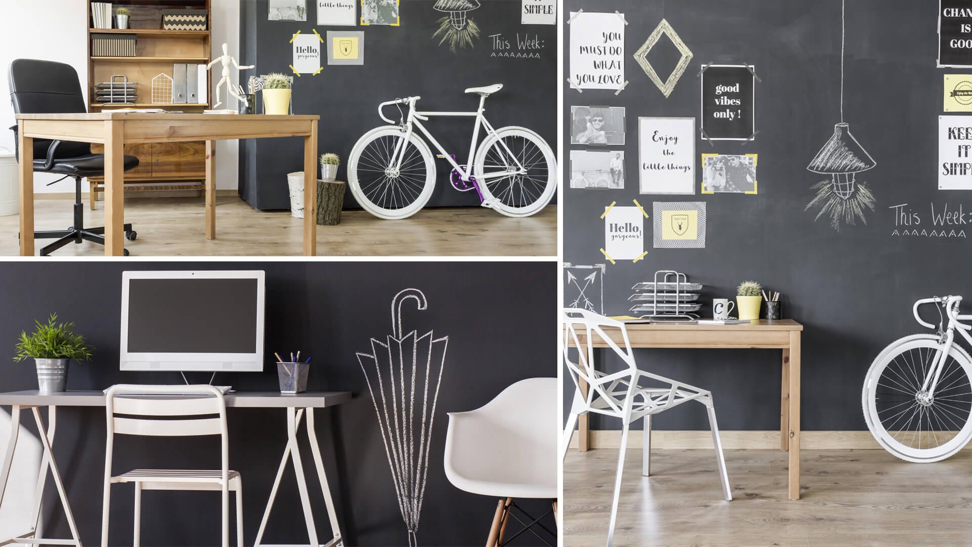 Home office idee per organizzare il tuo ufficio in tra le for Arredare ufficio idee