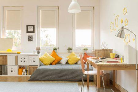 Le tende per gli spazi piccoli