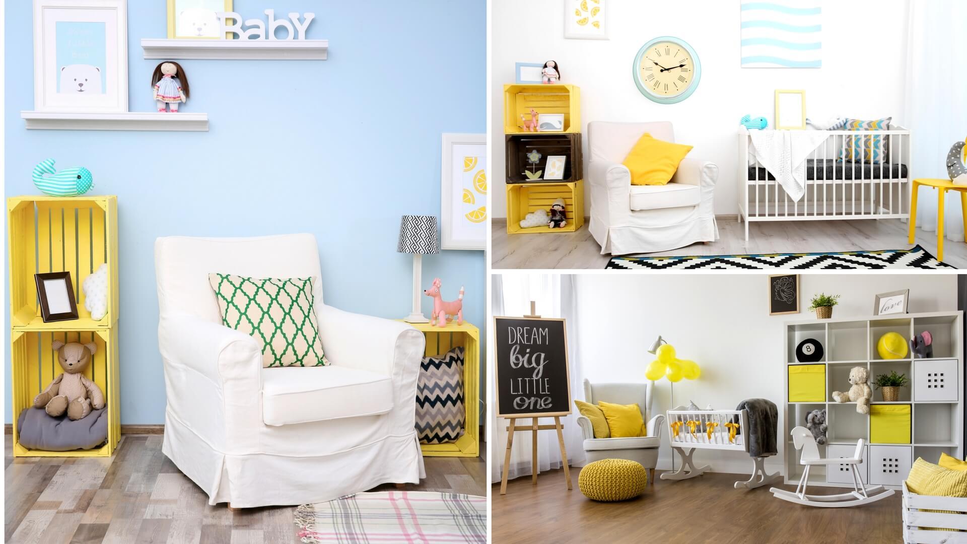 Affordable inoltre vi consigliamo di scartare mobili con - Arredamento cameretta neonato ...
