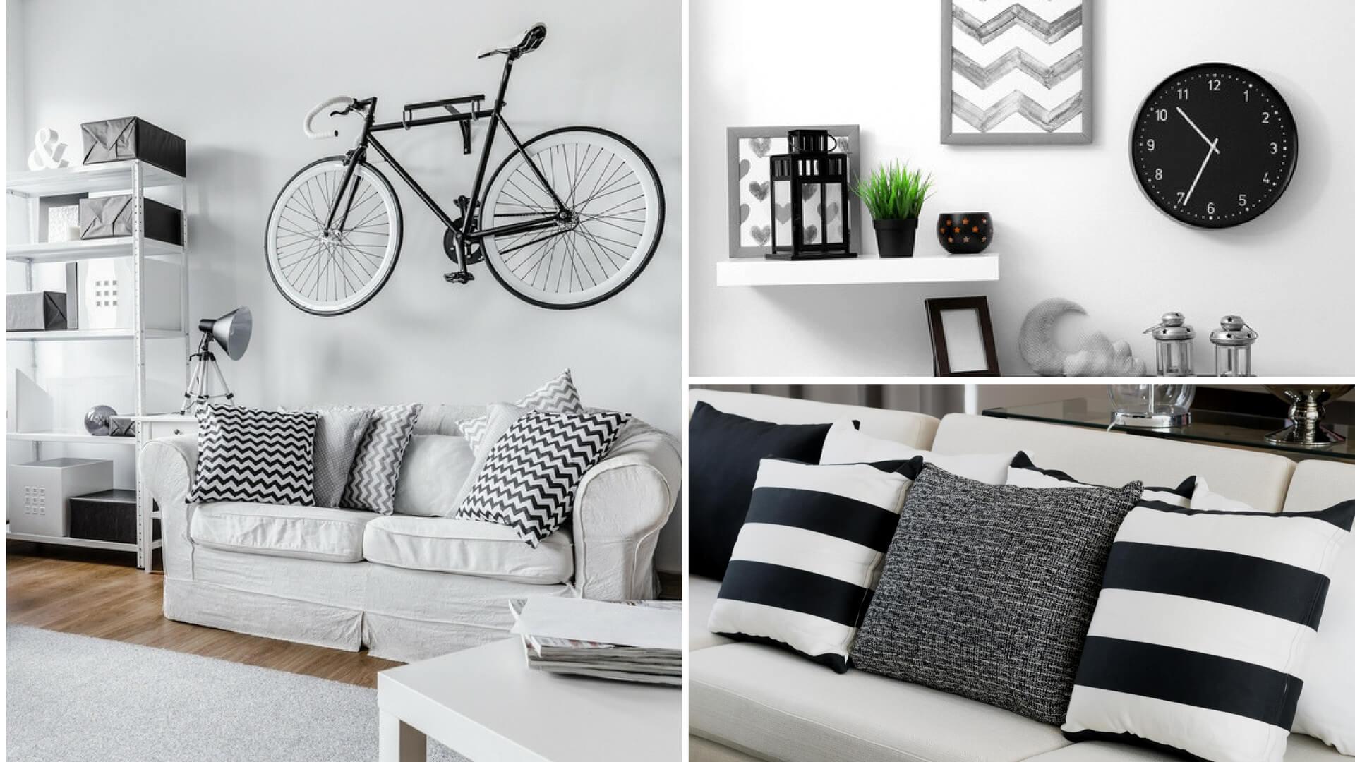 Camera Da Letto Bianca E Nera interni casa in black e white: leggi i nostri consigli
