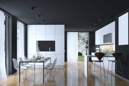 Bianco e nero interni