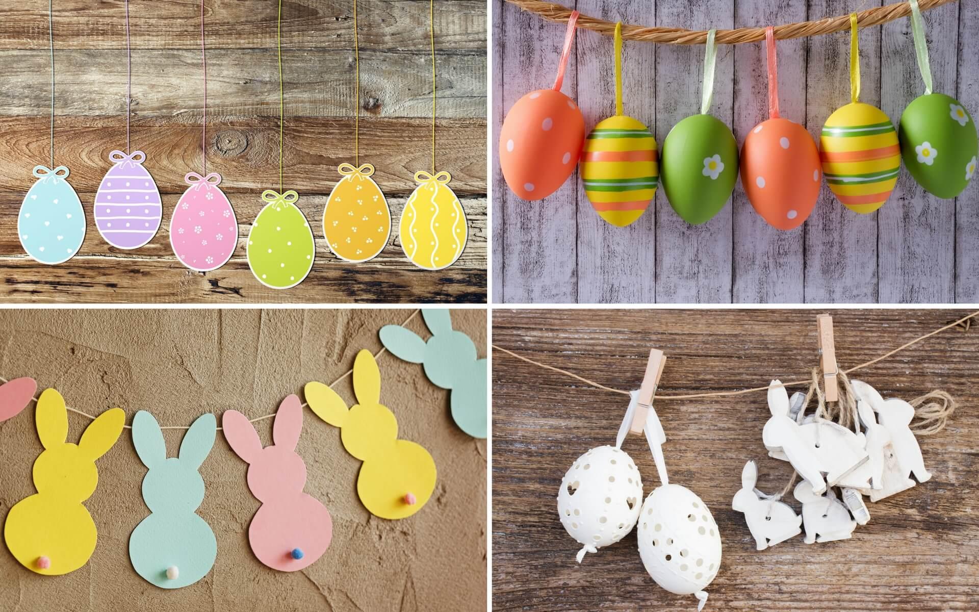 uova decorative per Pasqua