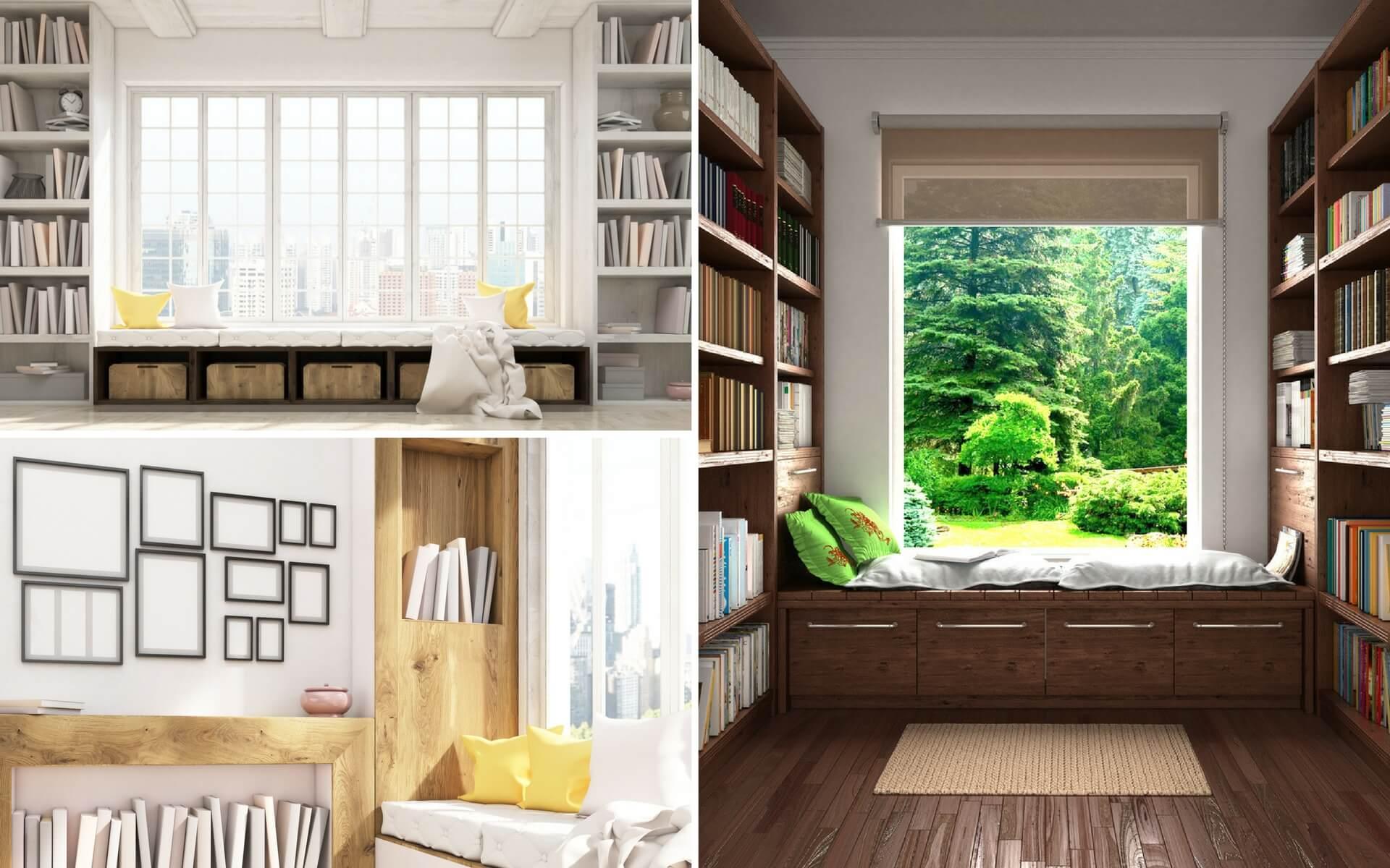 Come sfruttare lo spazio in casa blog oknoplast - Panca sotto finestra ...