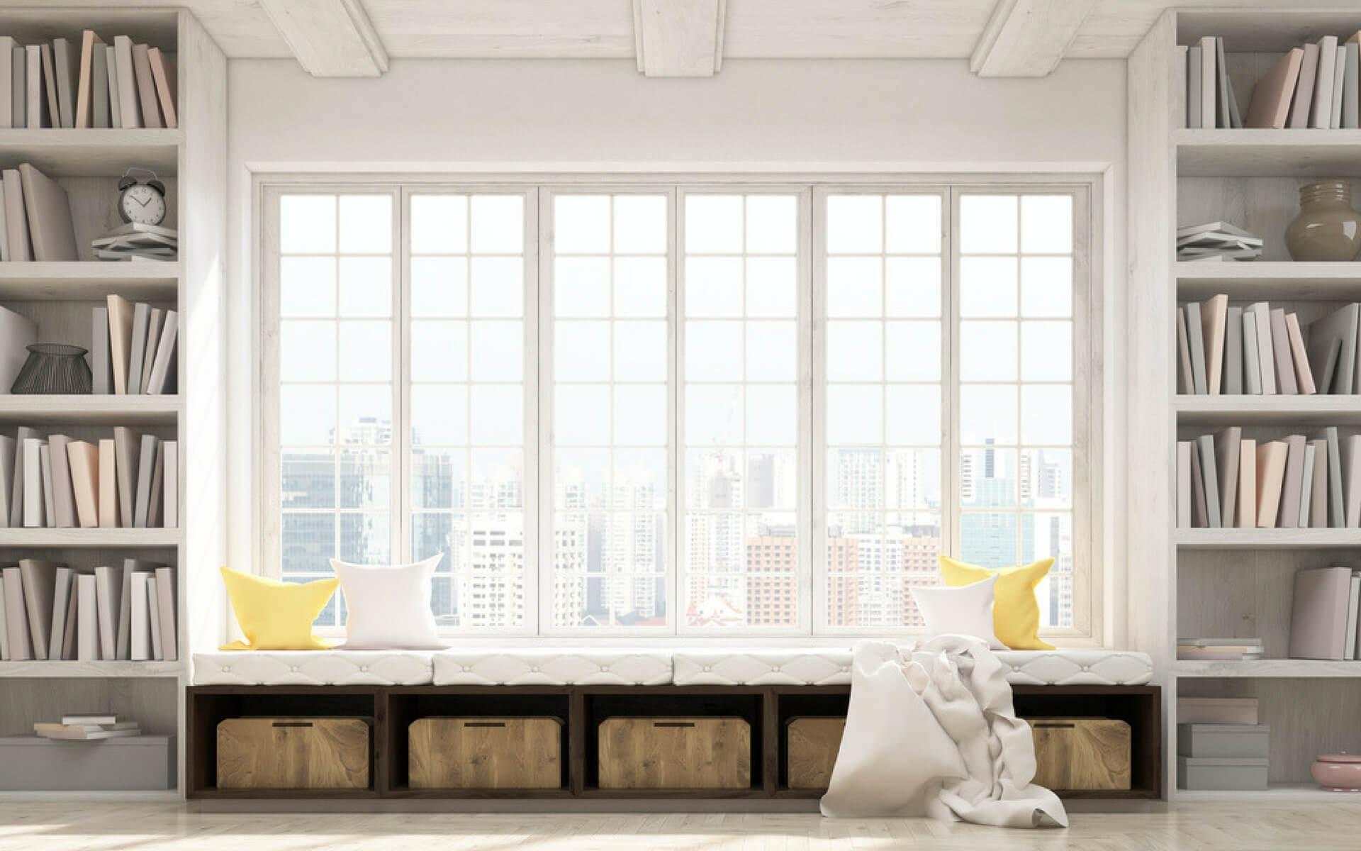 Davanzale Interno Della Finestra come sfruttare lo spazio in casa | blog oknoplast