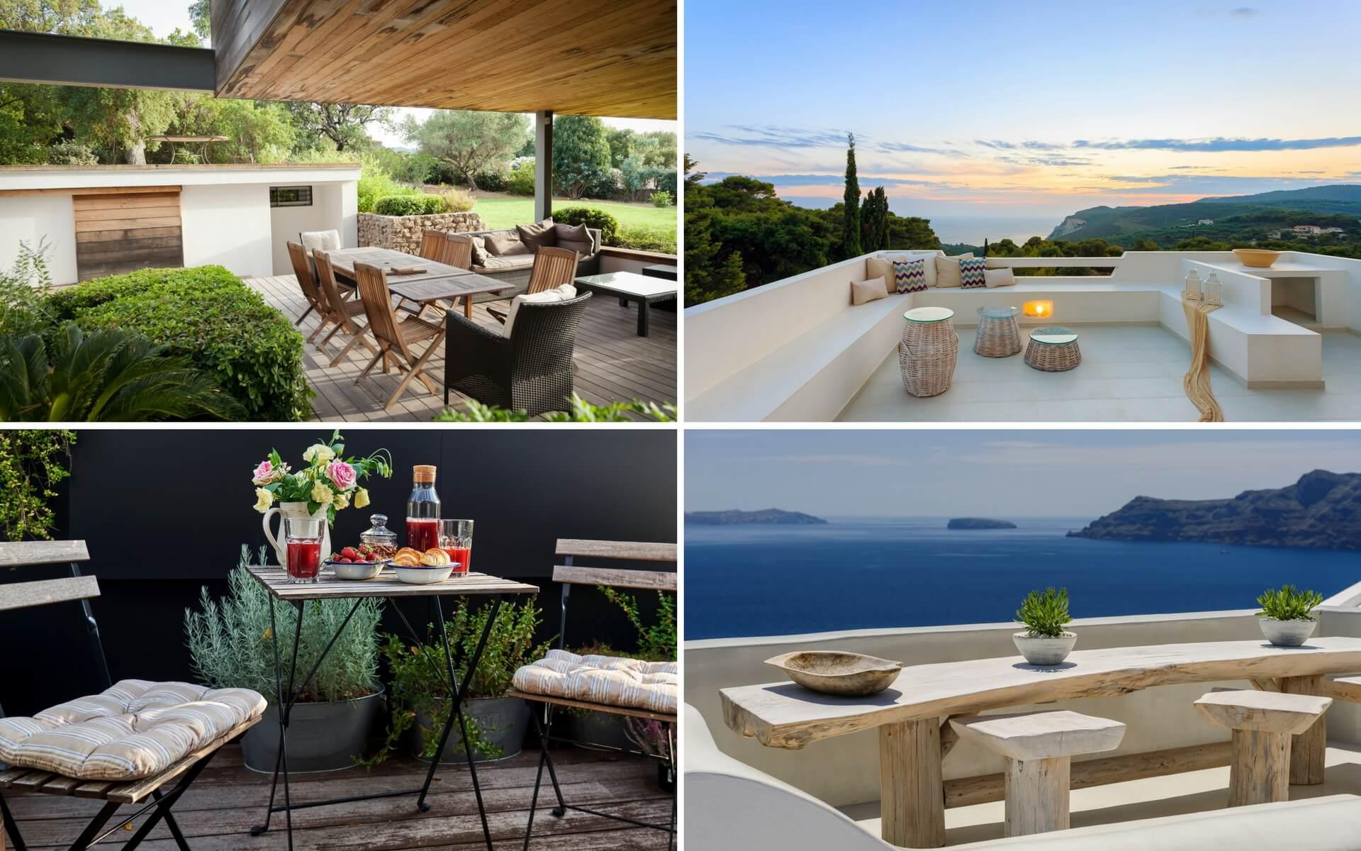 Come arredare in stile mediterraneo blog oknoplast for Complementi da giardino
