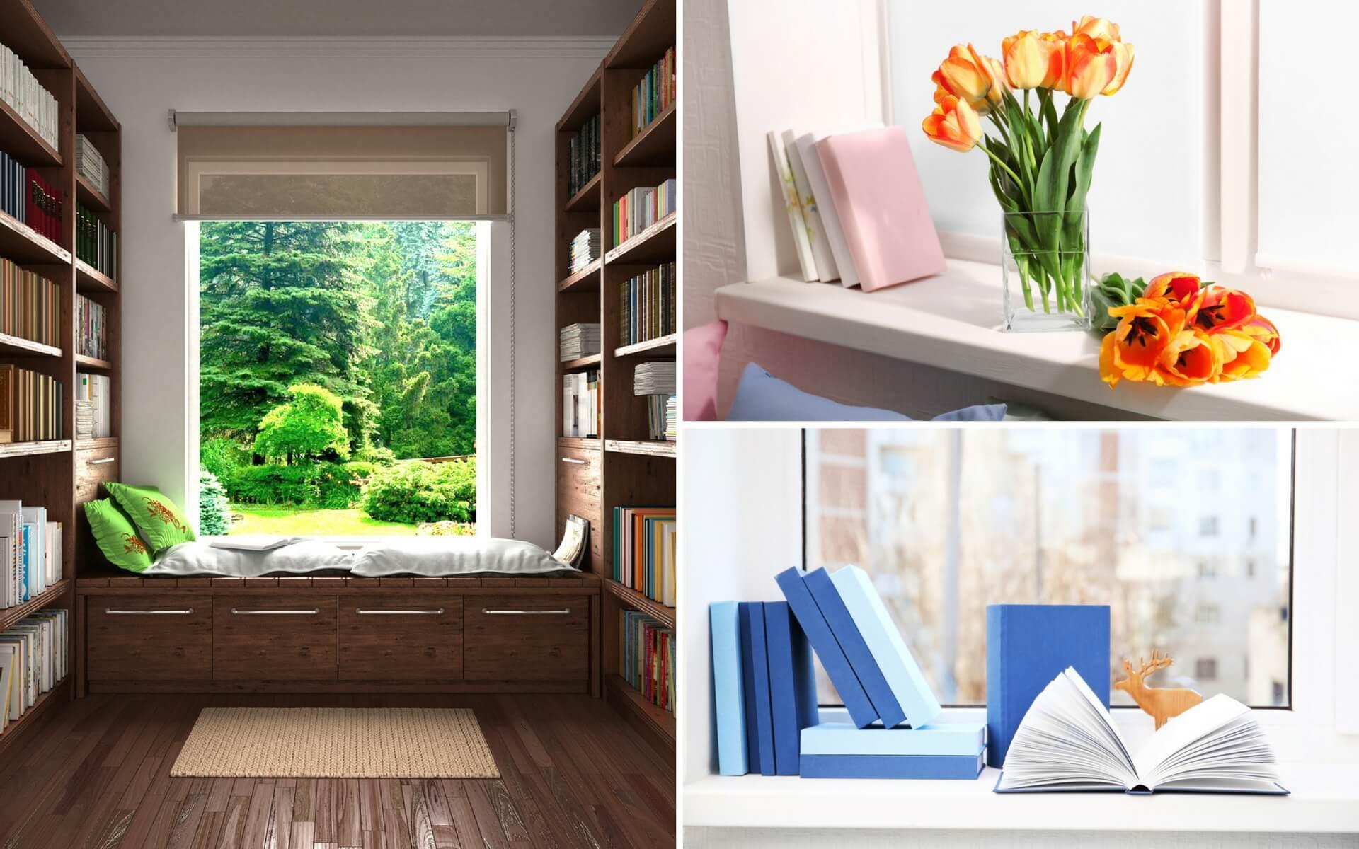 Come decorare i davanzali blog oknoplast - Davanzali per finestre ...