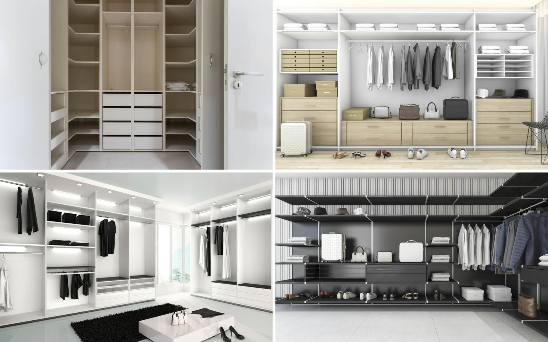 Come ricavare e organizzare una cabina armadio in casa - Cabina armadio dietro al letto ...
