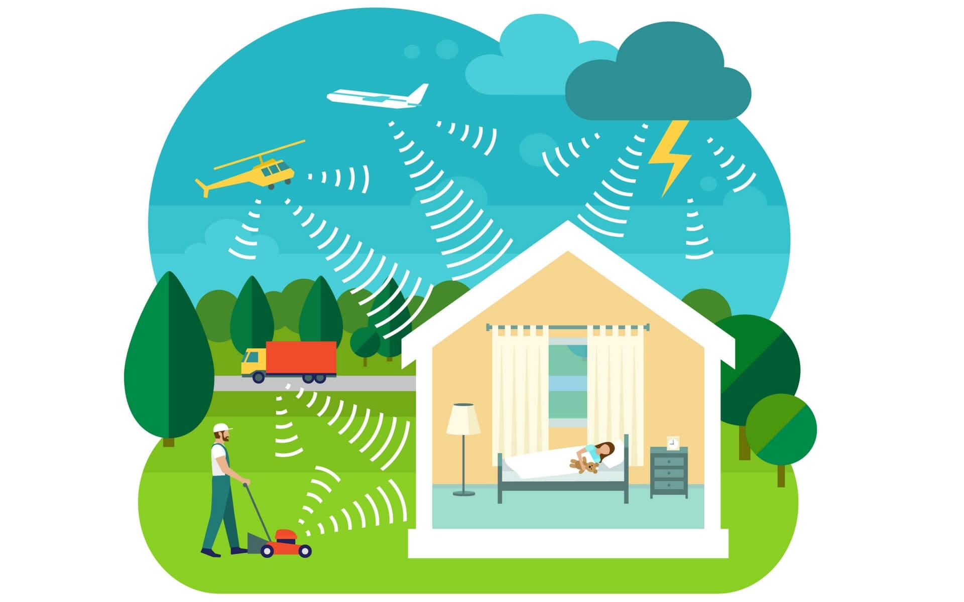 le vetrocamere isolanti contribuiscono ad abbattere i rumori in casa