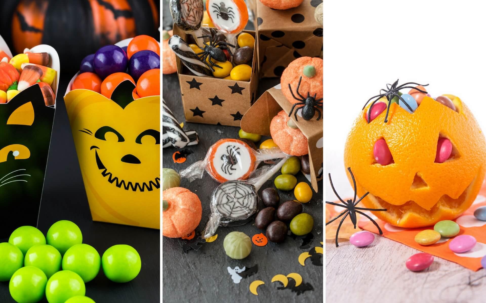 Esempi di confezioni originali per le caramelle di Halloween