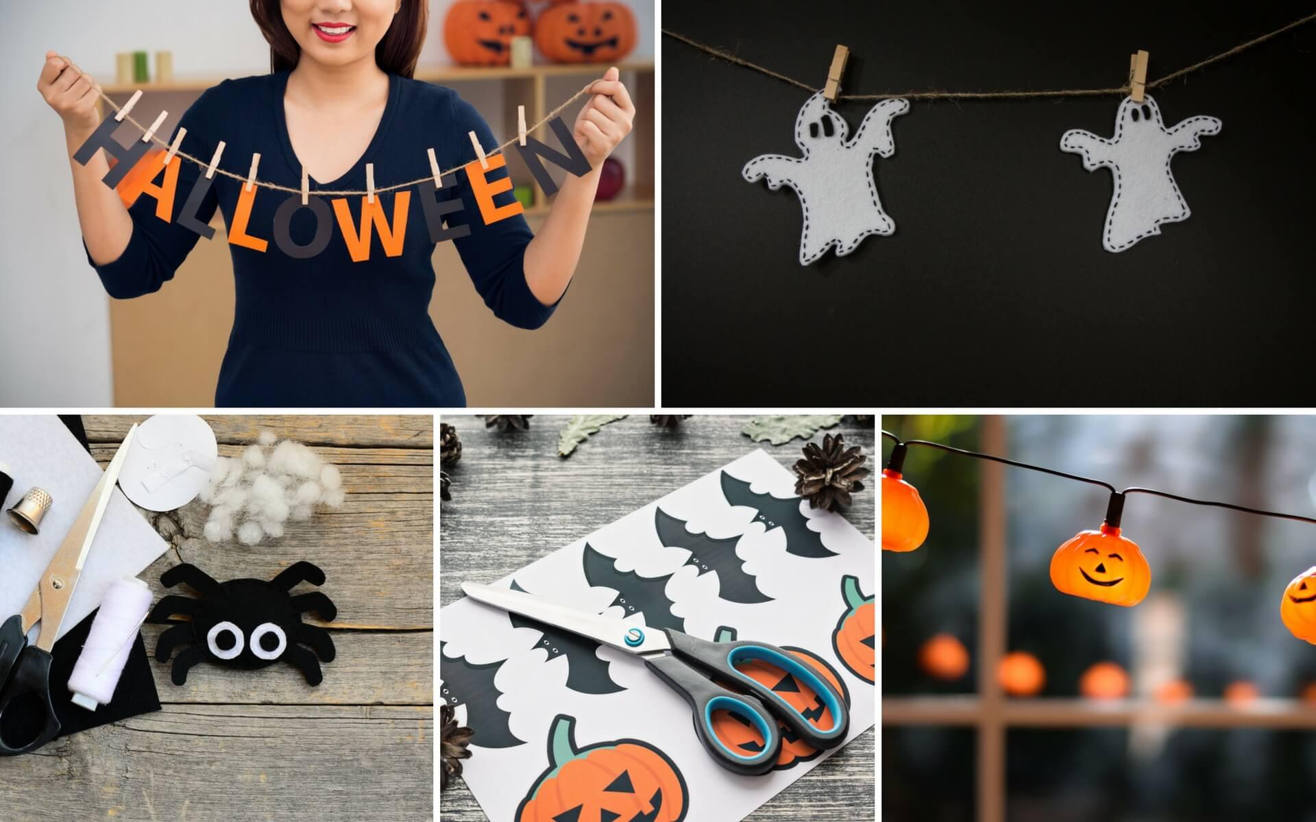 Tante idee di Halloween per decorare le finestre di casa