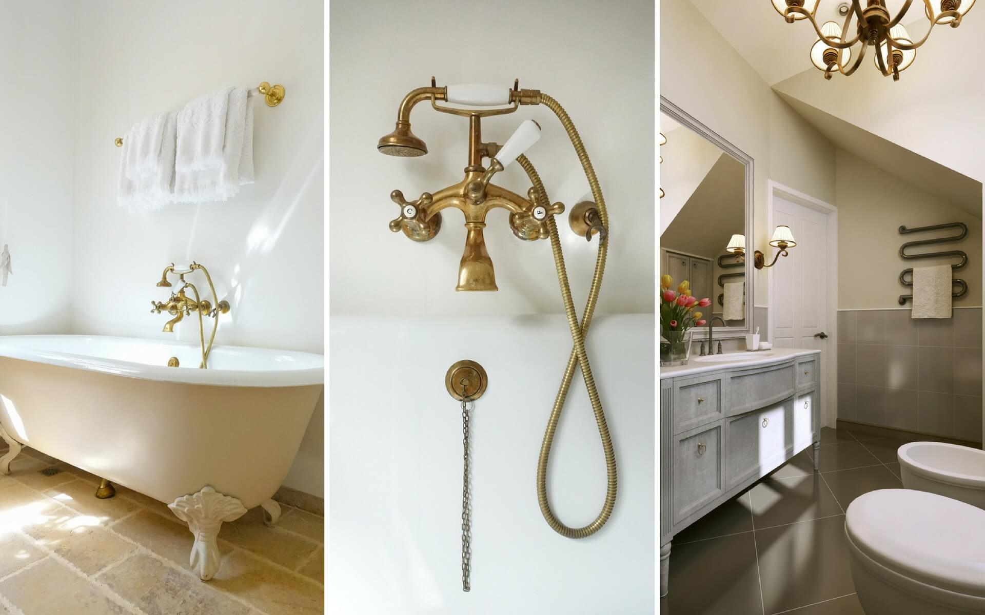 Vasca Da Bagno Stile Francese : Come arredare la casa in stile provenzale. blog oknoplast