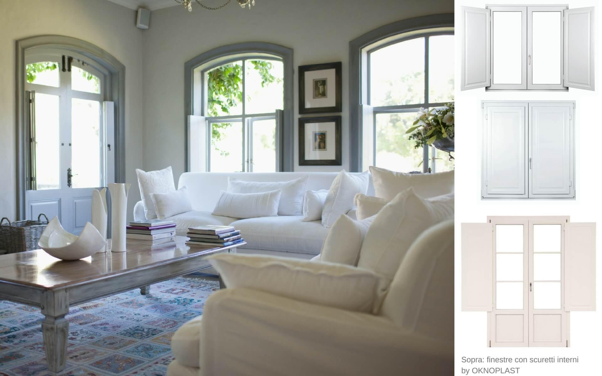 Come arredare la casa in stile provenzale blog oknoplast for Finestre per case in stile artigiano