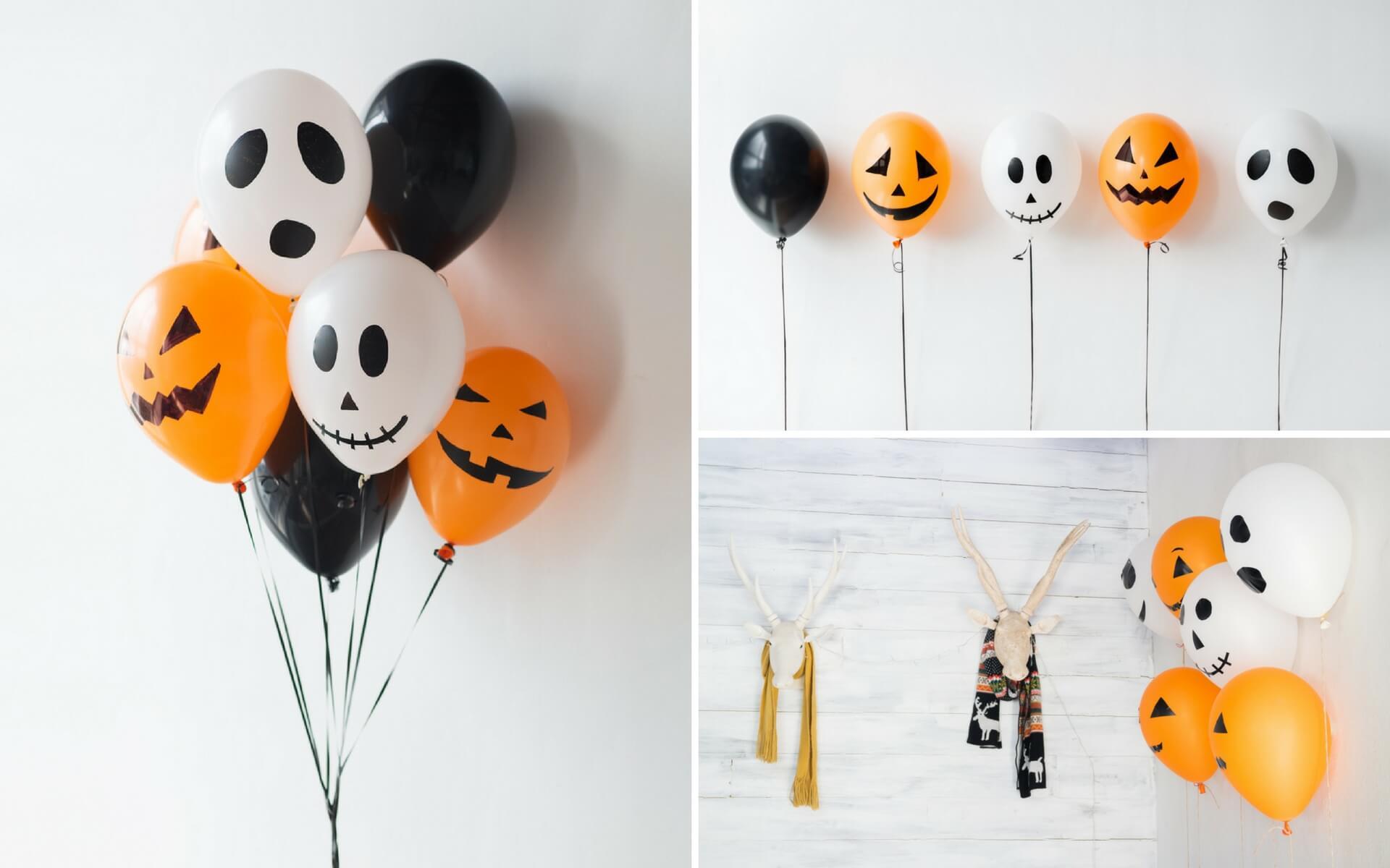 Consigli utili per creare palloncini con facce da fantasma per Halloween