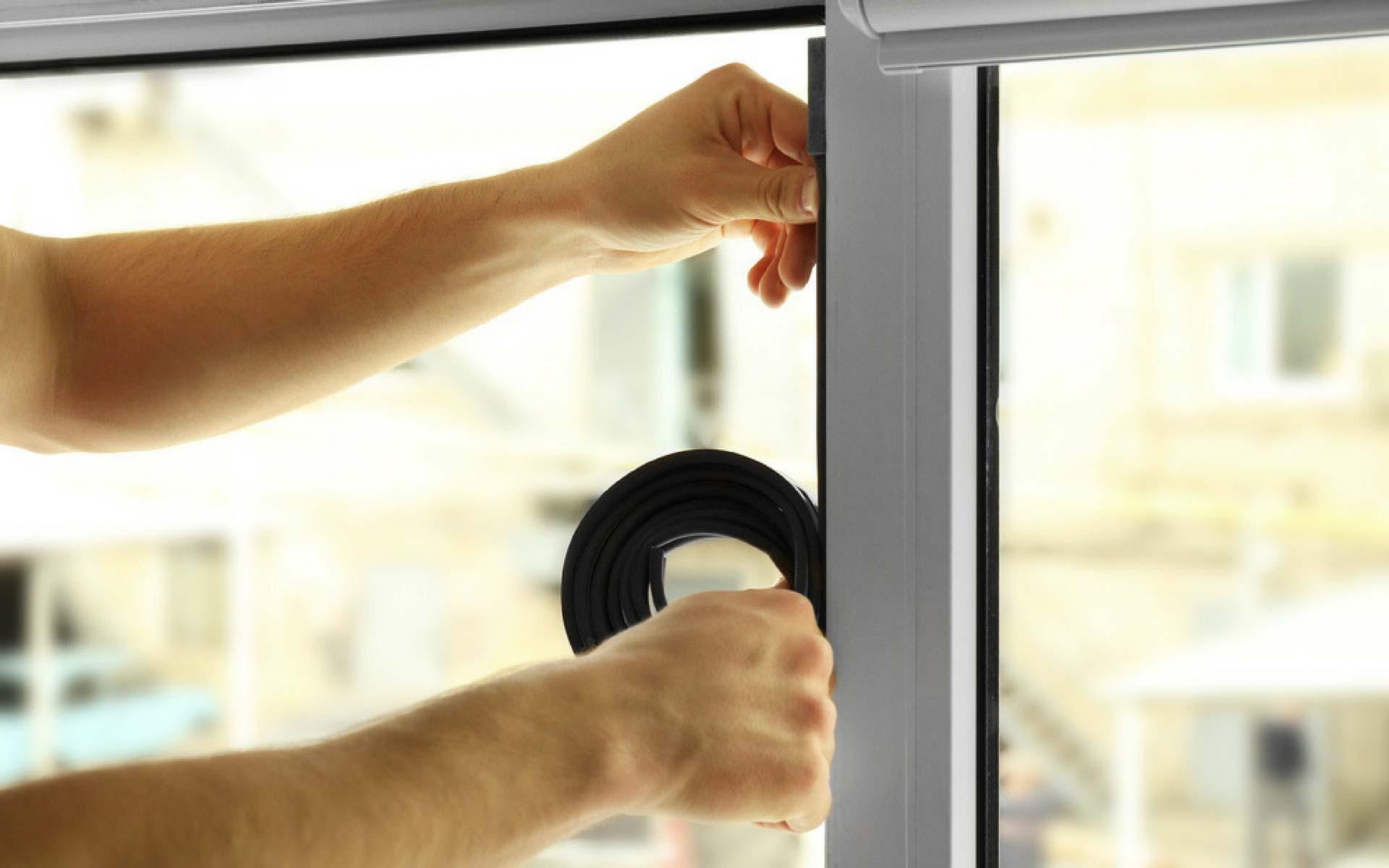 Sostituire le vecchie guarnizioni delle finestre con quelle nuove a lunga durata