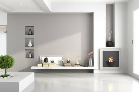 Diverse idee per arredare la propria casa usando una parete attrezzata in cartongesso