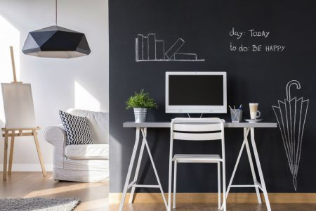 Come utilizzare la vernice lavagna per decorare gli interni e gli oggetti di casa