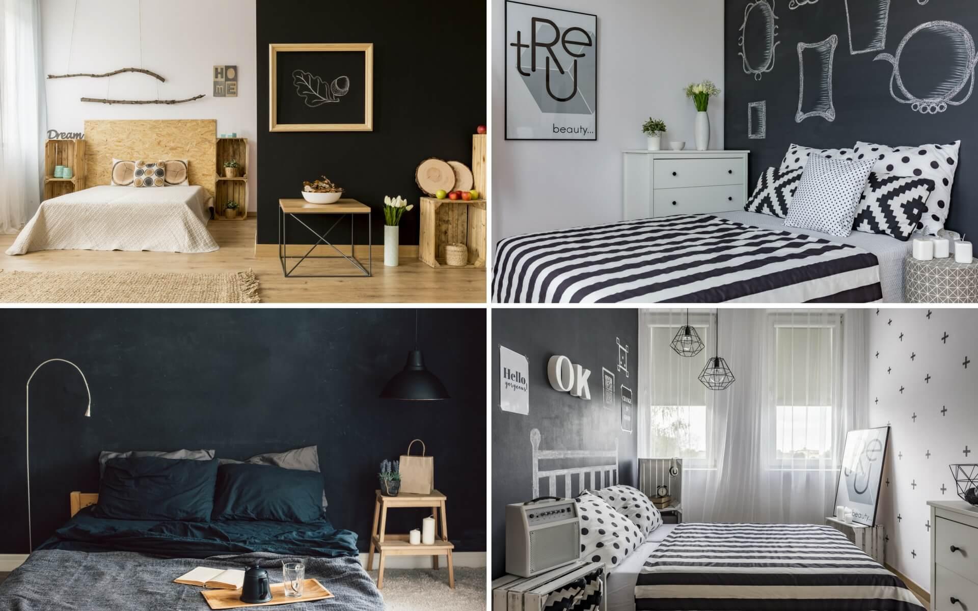Come usare la vernice lavagna per rendere originale la tua camera da letto
