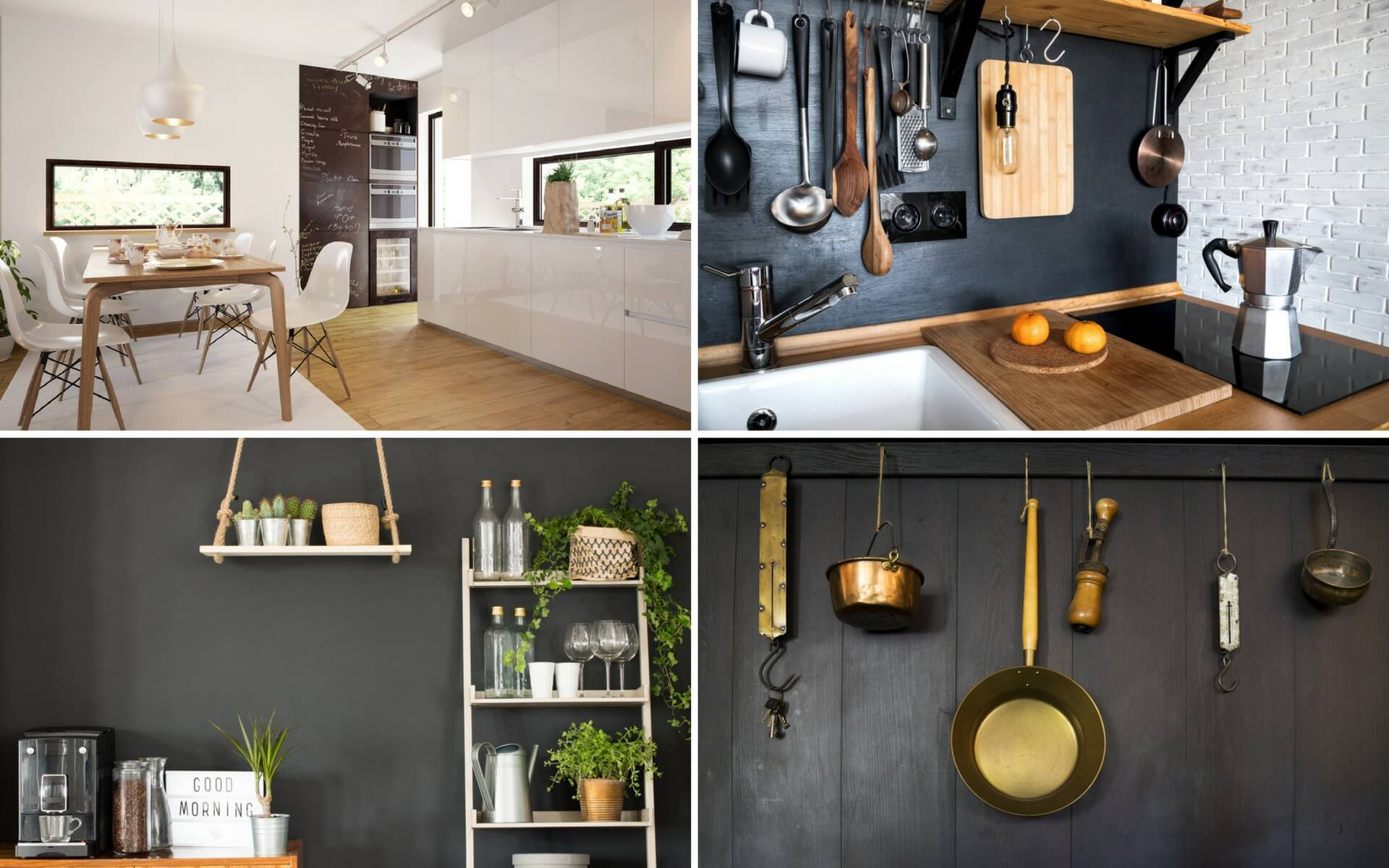 Decorare le pareti con vernice lavagna blog oknoplast - Vernice lavabile cucina ...