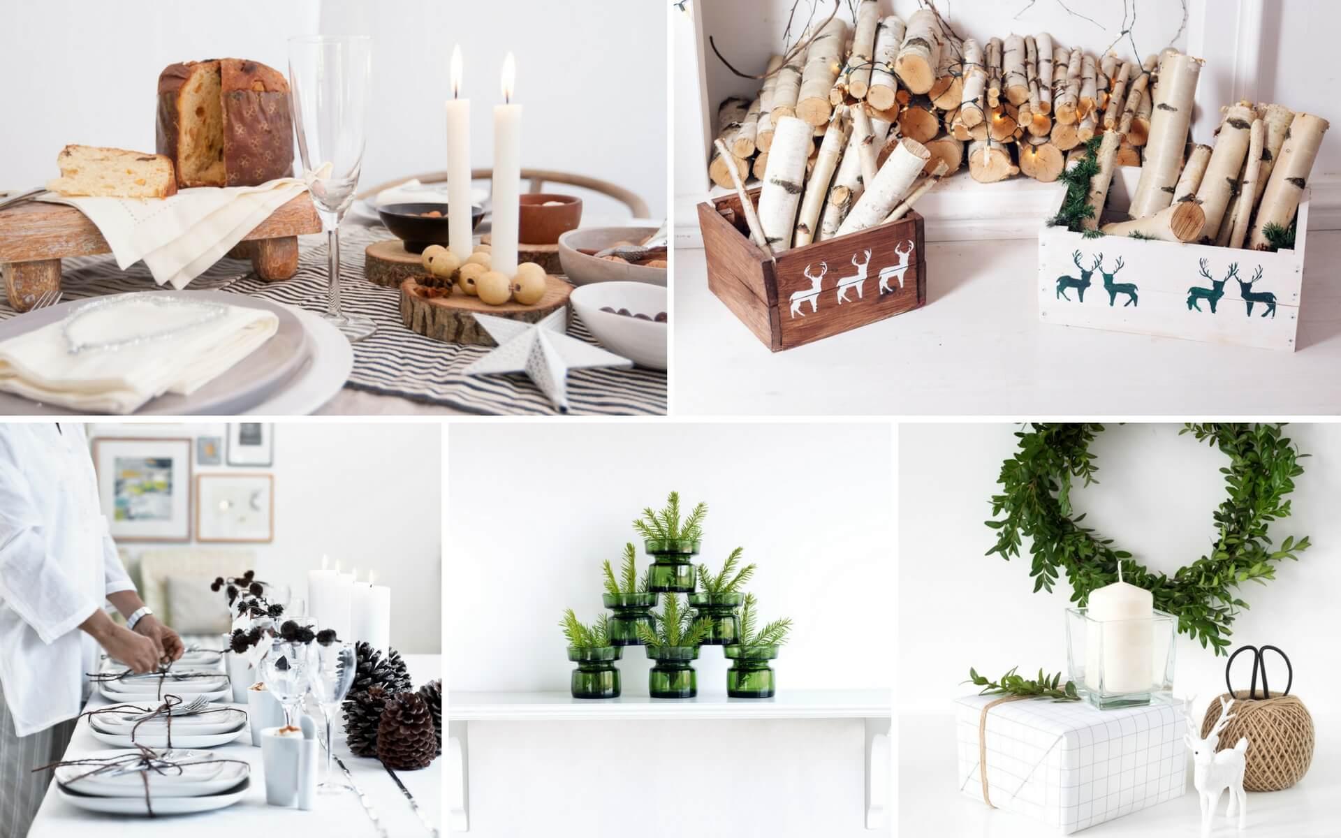 Consigli per degli addobbi natalizi in stile rustico e vintage