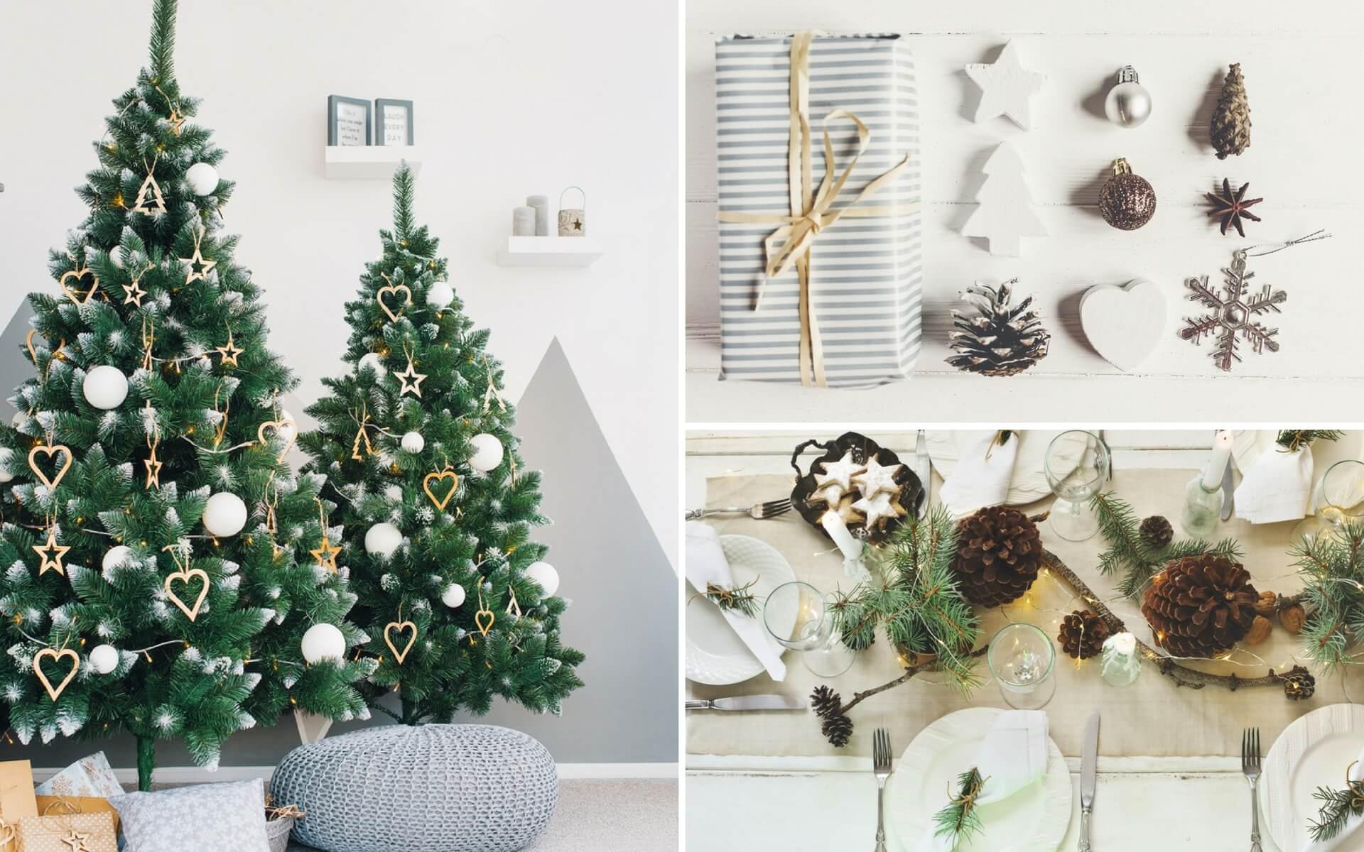 Come addobbare la casa a natale blog oknoplast - Addobbi natalizi per la porta ...