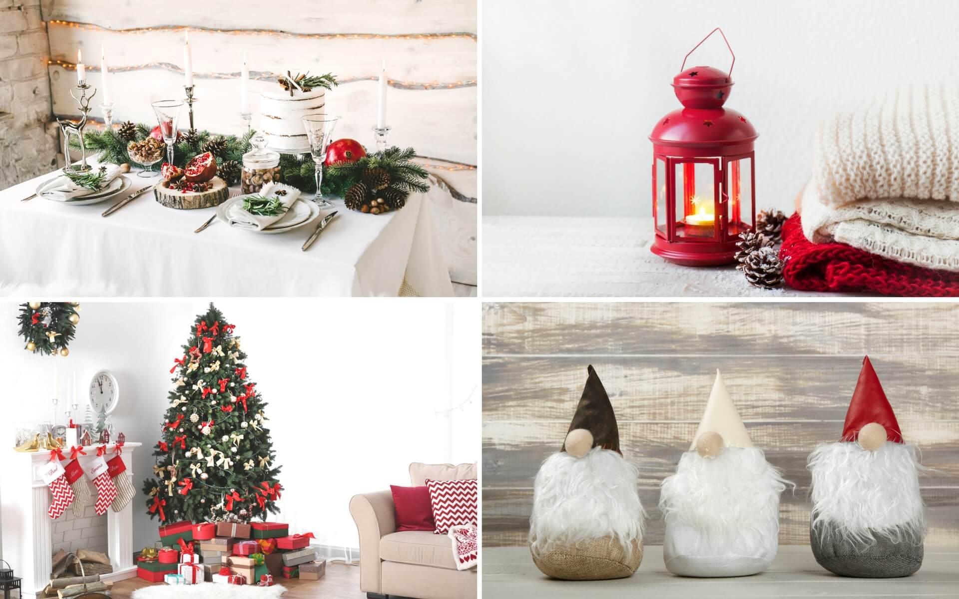 Come realizzare dei classici addobbi natalizi rivisitati in chiave moderna