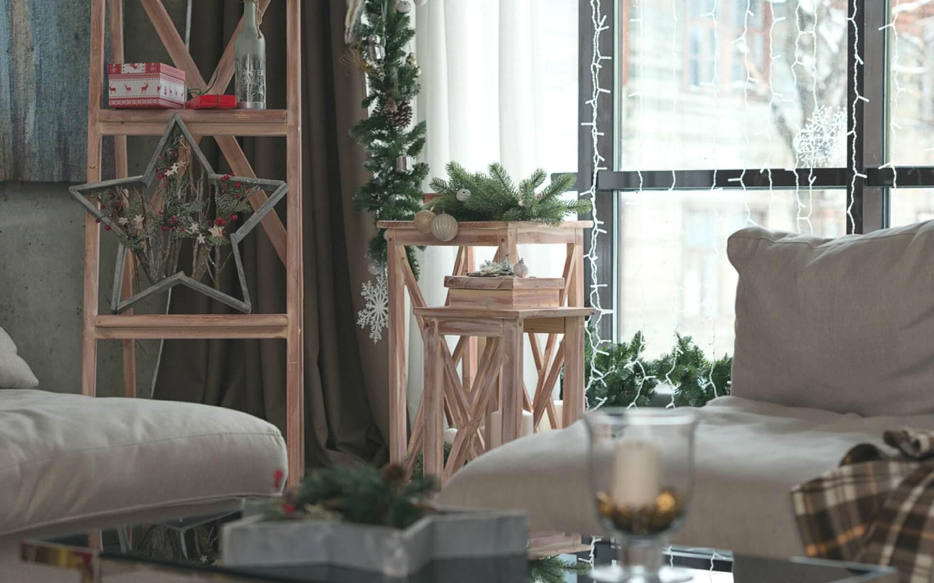Decorazioni natalizie per porte e finestre blog oknoplast - Decorare le finestre per natale ...