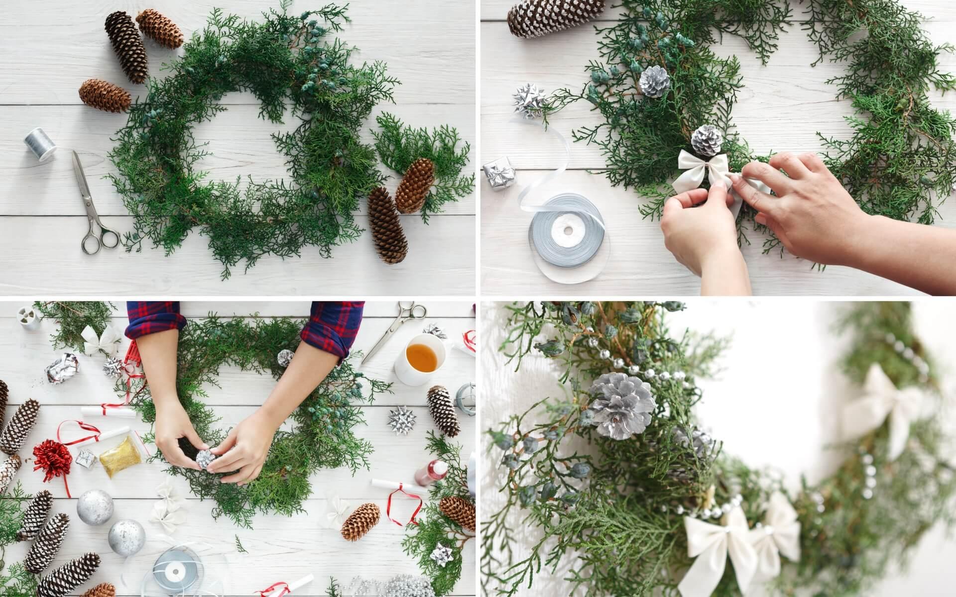 Decorazioni natalizie per porte e finestre blog oknoplast - Ghirlanda di natale per porta ...