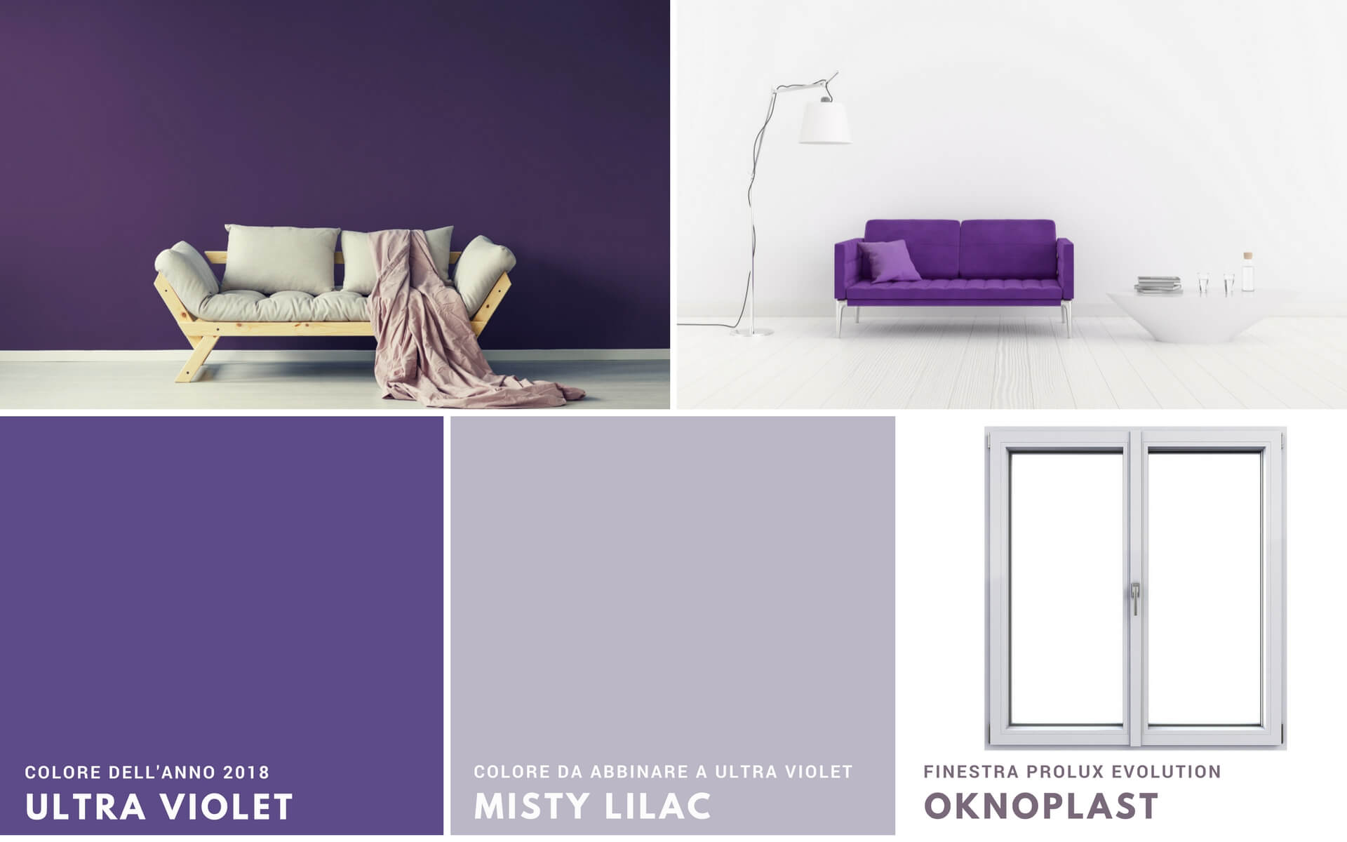 Colori Da Abbinare Al Rosa pantone 2018: colori di tendenza per casa | blog oknoplast