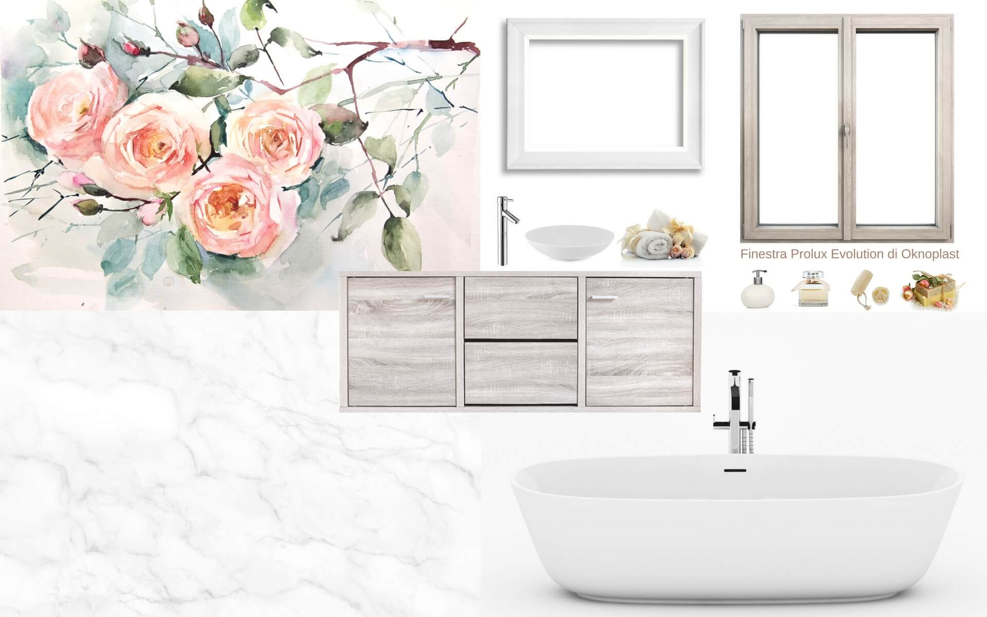 Consigli pratici per usare una carta da parati floreale in bagno