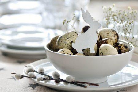 Consigli pratici e fai da te per arredare casa per Pasqua