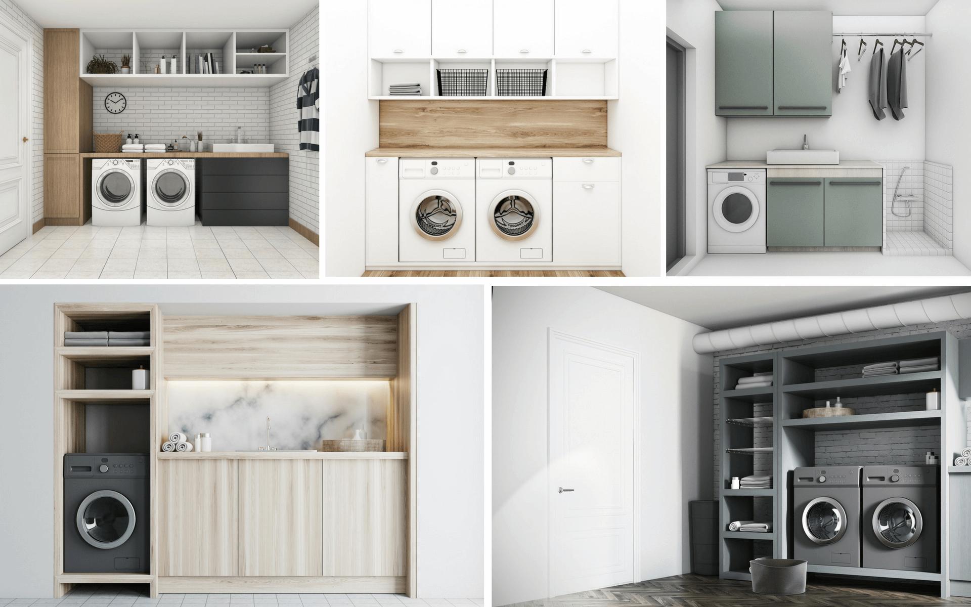 Alcuni suggerimenti per sfruttare al meglio lo spazio nel locale lavanderia