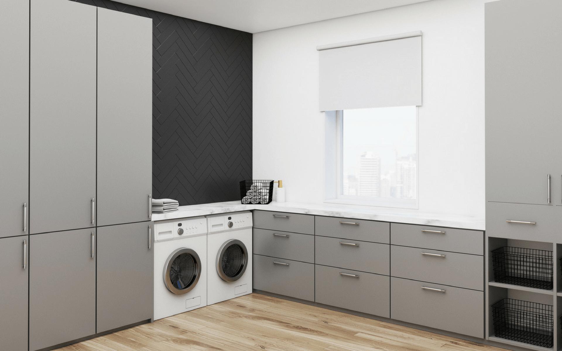 L'importanza di avere una finestra nel locale lavanderia così da arieggiare correttamente l'ambiente ed evitare la formazione di condense e muffe