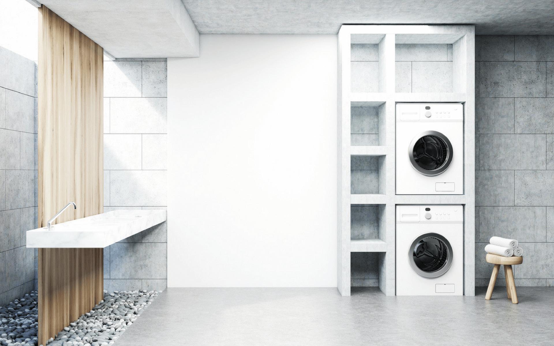 Come arredare una lavanderia in casa blog oknoplast - Lavanderia in casa ...