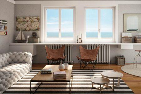 Consigli utili e pratici per arredare correttamente una casa al mare e renderla piacevole e funzionale