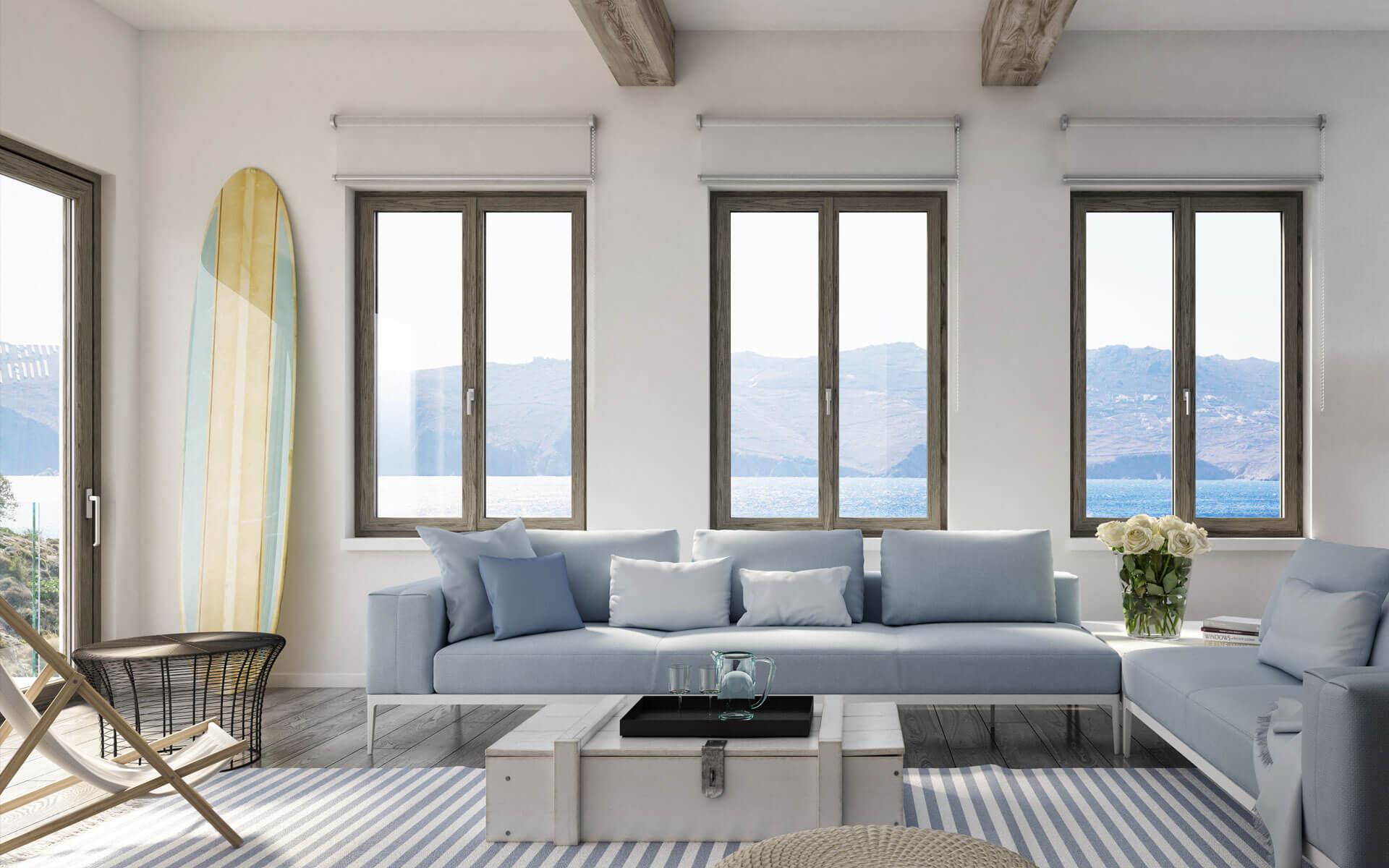 Per combattere il caldo in casa la soluzione migliore è sostituire i vecchi serramenti con delle moderne finestre in pvc