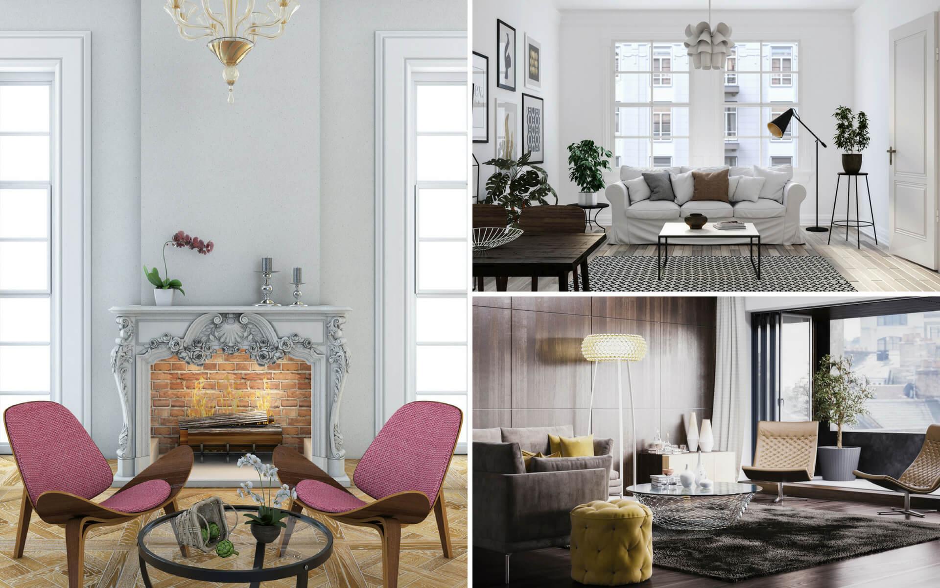 Le tendenze pi cool per arredare casa blog oknoplast for Arredare casa in stile classico