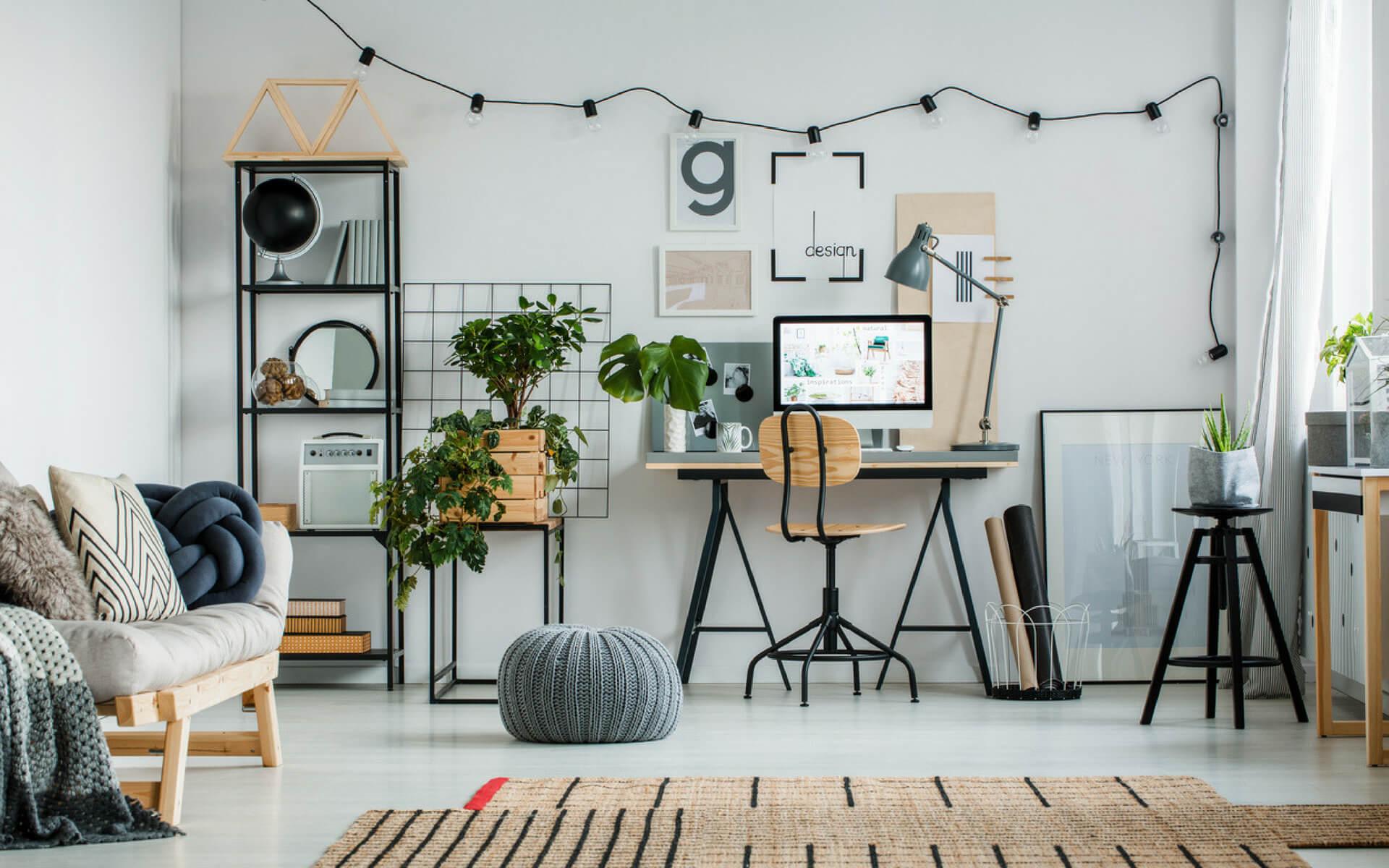L'importanza di una buona illuminazione naturale e artificiale in un angolo studio