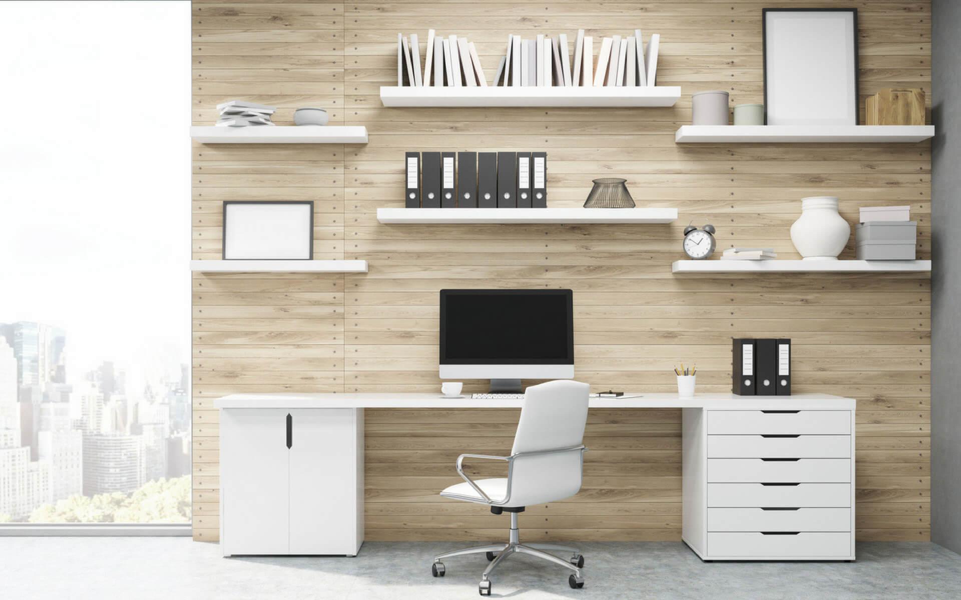 Come attrezzare un angolo studio con mensole e mobili pratici e funzionali