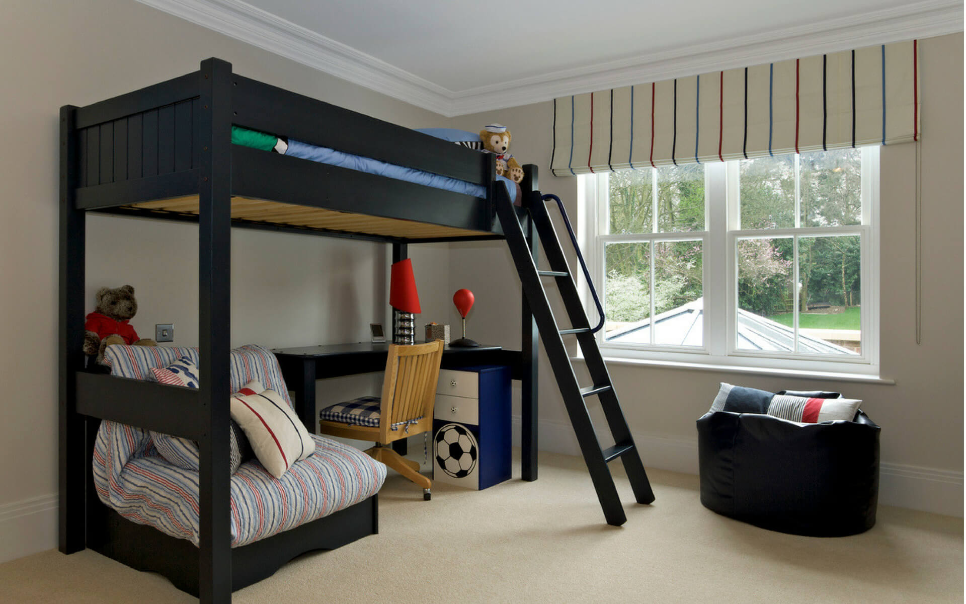 Come creare un angolo studio per ragazzi blog oknoplast - Mobili prezioso camerette ...