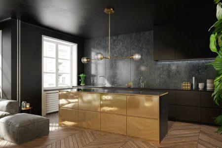 Consigli per arredare la casa con materiali metallici