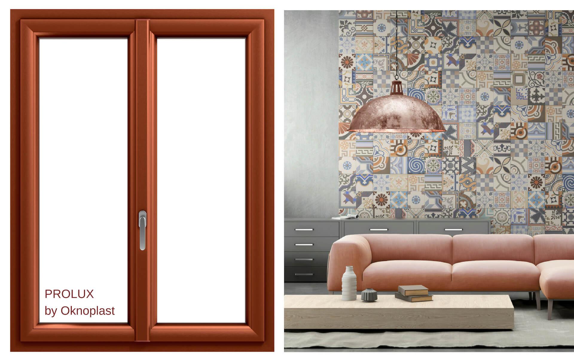 Consigli per abbinare le finestre con oggetti e arredi colore rame