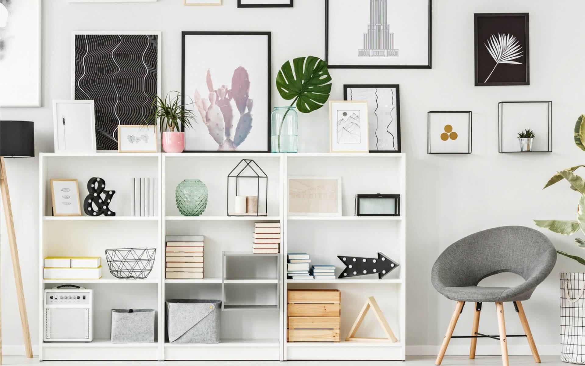 Come arredare una libreria in modo creativo blog oknoplast for Consigli per arredare una casa moderna