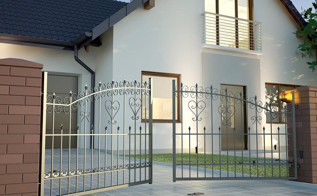 Cancello casa domotica