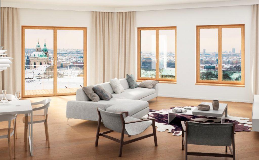 finestra prolux oknoplast - casa protetta dal caldo estivo