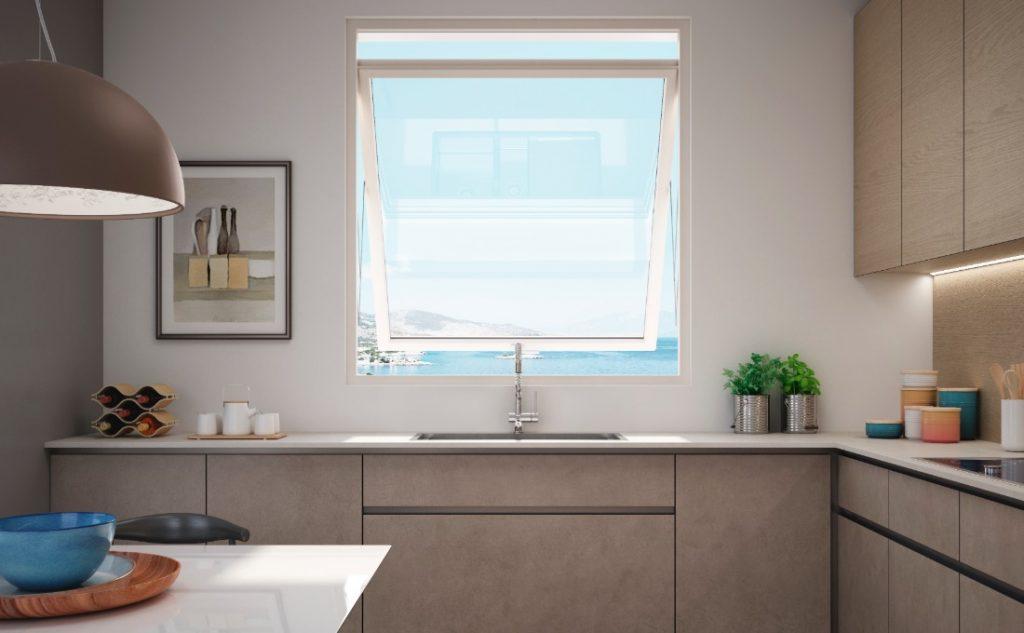 finestre a risparmio energetico Oknoplast - Prolux Swing
