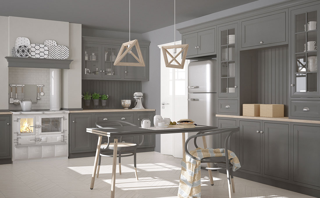 Cucina tortora casa moderna