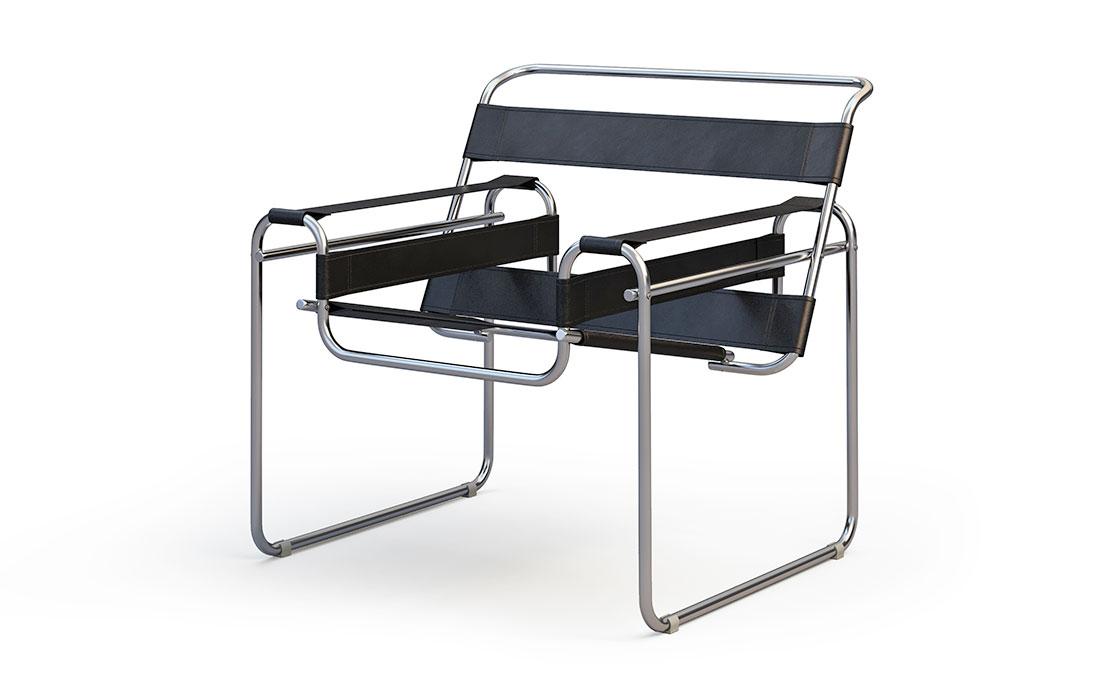 Sedia design stile Bauhaus