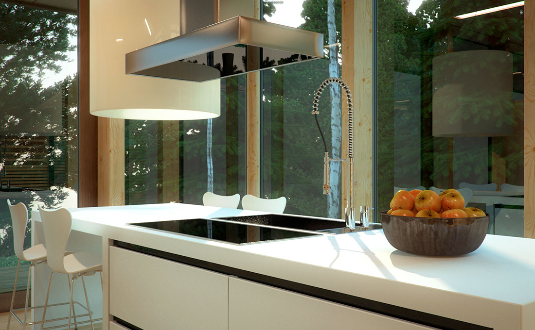 Materiali innovativi per il piano della cucina